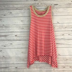 Free people with the free swing striped tank
